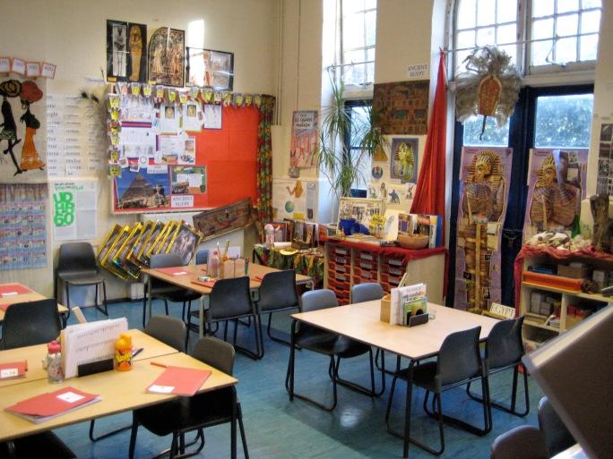Classrook display 3E Nov 2008 010